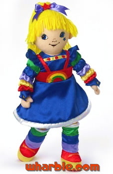 Madame Alexander Rainbow Brite Cloth Doll