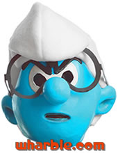 Smurf Mask