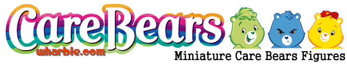 Miniature Care Bears Figures
