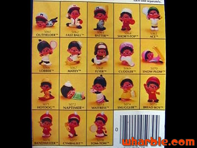Mini Monchhichi Figures By Mattel