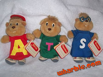 Mini Plush Alvin & the Chipmunks