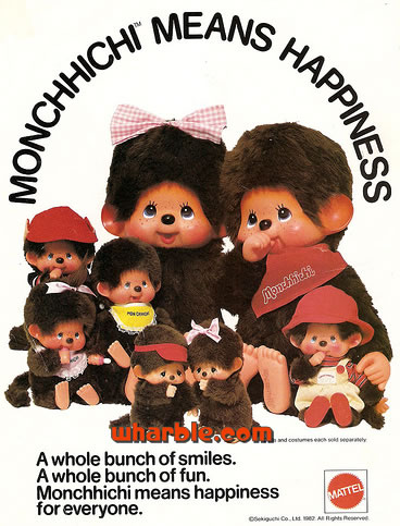 Monchhichi Means Happiness