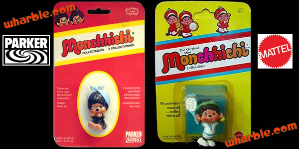 Monchhichi Figures Packages