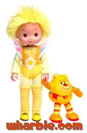 New Canary Yellow Doll