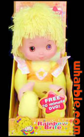 New Canary Yellow Doll & DVD