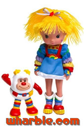 New Rainbow Brite Doll