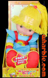 New Rainbow Brite Doll & DVD