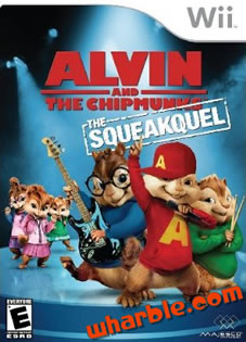 Alvin & The Chipmunks The Squeakquel - Nintendo Wii