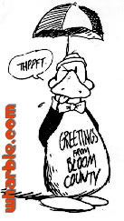 Greetings from Bloom County