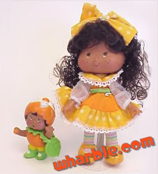 Orange Blossom Berrykin Doll