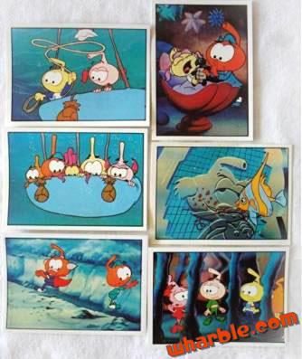 Panini Snorks Stickers