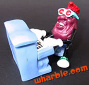 Piano Player California Raisin Figure