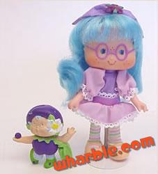 Plum Puddin Berrykin Doll
