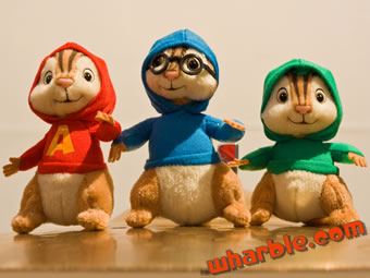 Alvin & the Chipmunks Limited Edition Plush