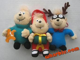 Alvin & the Chipmunks Christmas Ornaments