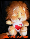 Plush Brave Heart Lion - Care Bear Cousin