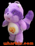 Plush Bright Heart Raccoon - Care Bear Cousin