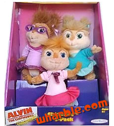 Plush Chipettes 3 Pack