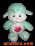 Plush Gentle Heart Lamb - Care Bear Cousin