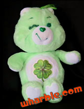 Plush Good Luck Care Bear