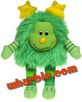Plush Green Sprite - Lucky