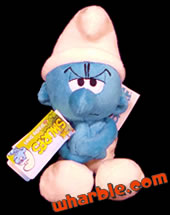Plush Grouchy Smurf