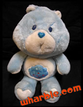 Plush Grumpy Care Bear