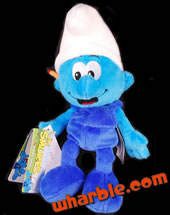 Plush Handy Smurf