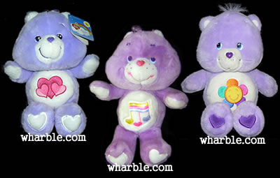 Plush Harmony Care Bear