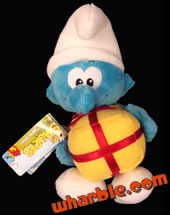 Plush Jokey Smurf
