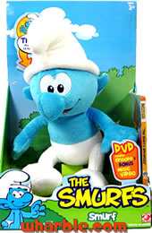 Plush Talking Smurf