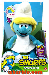 Plush Talking Smurfette