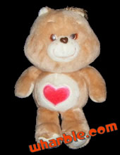 Plush Tenderheart Care Bear