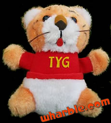 Plush Tyg Tiger