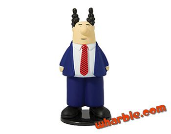 Pointy Haired Boss Action Figure