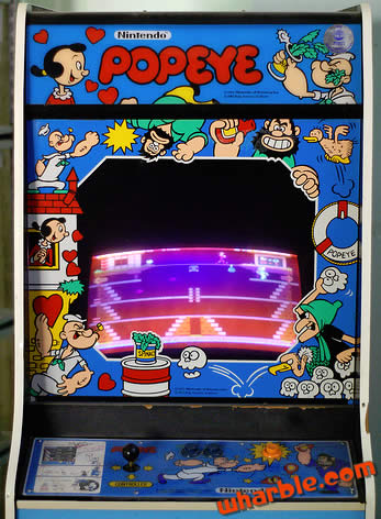 Popeye the arcade game