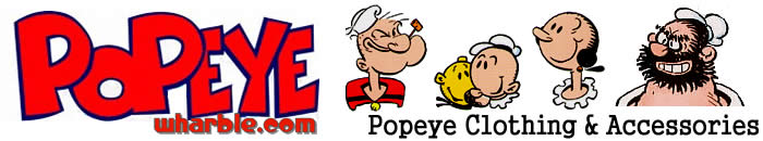 Popeye Clothing & Accessories