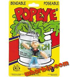 Popeye Keychain