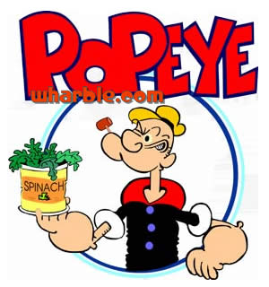Popeye Loves Spinach