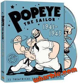 Popeye the Sailor: 1941-1943, Vol. 3