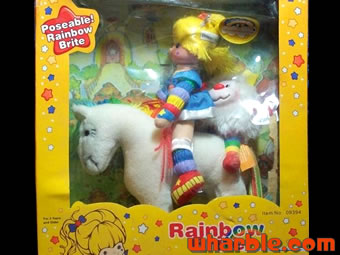 Poseable Rainbow Brite Doll Set