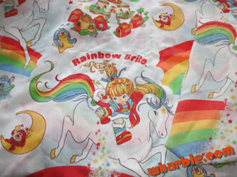 Rainbow Brite Bed Sheets
