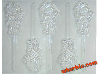 Rainbow Brite Candy Mold