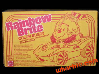 Rainbow Brite Color Buggy
