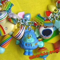 Rainbow Brite Charm Bracelet