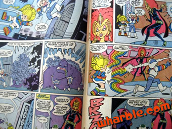 Rainbow Brite Comic Book