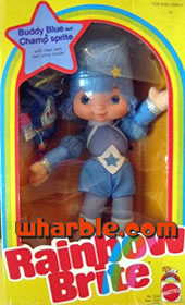 Rainbow Brite Doll Buddy Blue