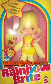 Rainbow Brite Doll Canary Yellow