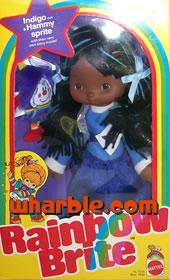 Rainbow Brite Doll Indigo