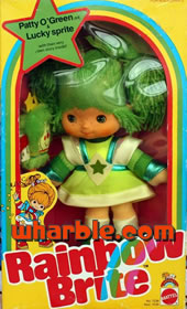 Rainbow Brite Doll Patty O'Green